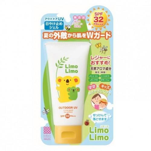 【任何購物加$50即可換購1件】防蚊防曬2合1: 日本LimoLimo兒童驅蟲防蚊防曬乳液 SPF32 PA+++ 50