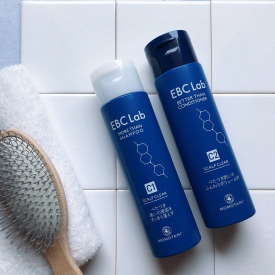 EBC Lab 清爽防掉髮洗護套裝【免運費】【半價加購額外防掉髮頭皮精華液】
