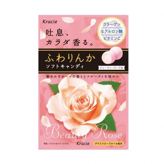 FUWARINKA玫瑰氣息糖【日本女生の約會神器!!】[2020年8月前使用]