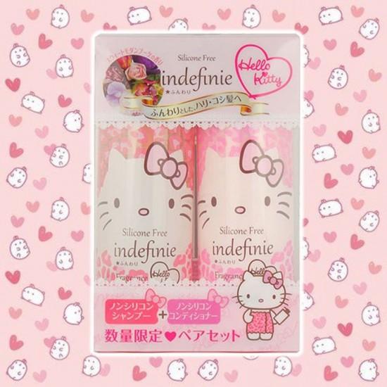Indefinie × Hello Kitty無矽補修洗護髮套裝