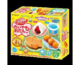 [限定加購]Kracie知育果子鯛魚燒茶點套餐DIY糖果