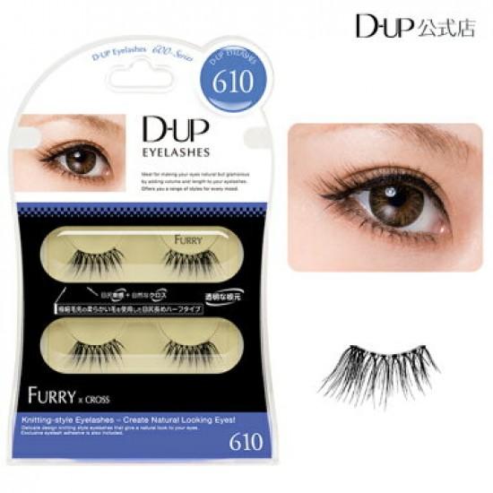 D-UP Eyelash Furry #610 Half Type