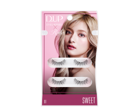 D-UP x Rola 超輕量假眼睫毛(#01 Sweet)