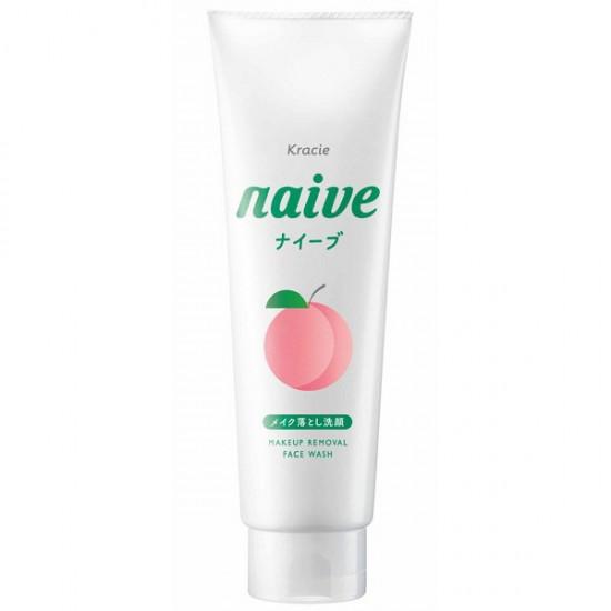 Naive 洗面乳(桃葉味) 200g增量版 [2021年4月前使用]
